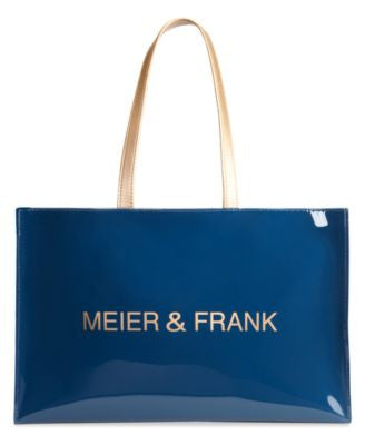 Meier & Frank Large Open Tote with Logo
