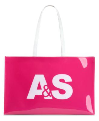 Abraham & Straus Large Open Tote with Logo