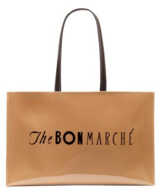 The Bon Marche Large Open Tote with Logo