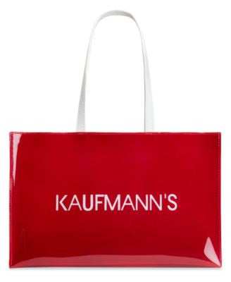 Kaufmann's Large Open Tote with Logo