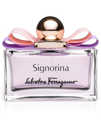 Salvatore Ferragamo Signorina Eau de Toilette Spray, 3.4 oz