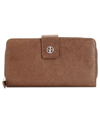 Giani Bernini Wallet, Sandalwood Leather All in One