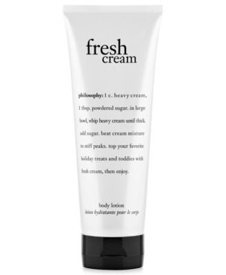 philosophy fresh cream body lotion, 7 oz
