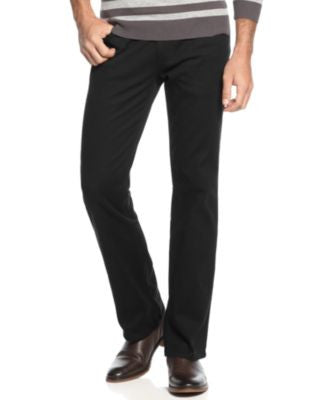 Alfani Pants, 5-Pocket Slub Twill Pants