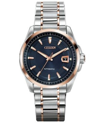 Citizen Men's Automatic Grand Classic Eco-Drive Two-Tone Stainless Steel Bracelet Watch 42mm NB0046-