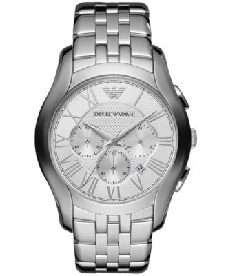 Emporio Armani Watch, Men's Chronograph Stainless Steel Bracelet 45mm AR1702