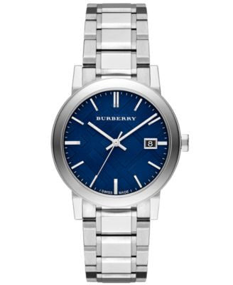 Burberry Watch, Men's Swiss Stainless Steel Bracelet 38mm BU9031