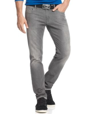 Armani Jeans Men's Slim-Fit Comfort Stretch Jeans, Grey Wash