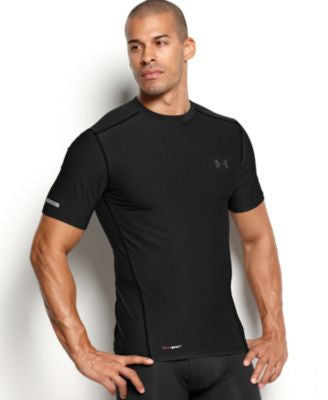 Under Armour Men's Athletic HeatGear® Performance Crew-Neck T-Shirt 2-Pack