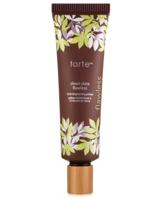 tarte clean slate flawless 12-hour brightening primer