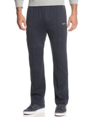 Hugo Boss Men's GREEN Hainy Elastic-Waist Sweatpants