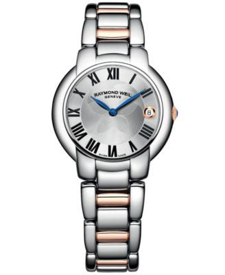 RAYMOND WEIL Watch, Women's Swiss Jasmine Two-Tone Stainless Steel Bracelet 35mm 5235-S5-01659