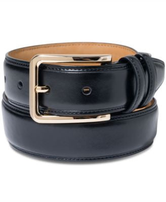 Club Room Gold-Buckle Dress Belt