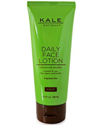 Kale Naturals Daily Face Lotion, 3.4 oz