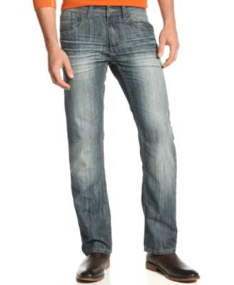 INC International Concepts Men's Jeans, Mynx Slim Straight Jeans, Only at Vogily