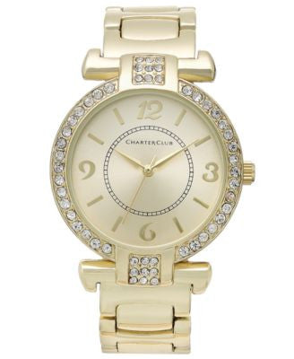 Charter Club Women's Gold-Tone Bracelet 25mm