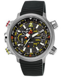 Citizen Men's Chronograph Eco-Drive Promaster Altichron Black Rubber Strap Watch 50mm BN5030-06E
