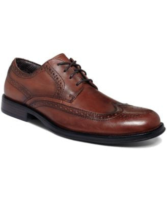 Dockers Moritz Wing-Tip Lace-Up Shoes