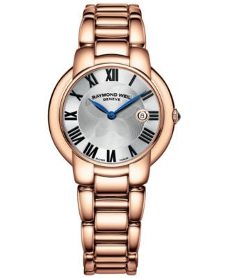 RAYMOND WEIL Watch, Women's Swiss Jasmine Rose Gold PVD-Coated Stainless Steel Bracelet 35mm 5235-P5