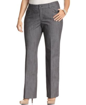 Lee Platinum Plus Size Monaco Trousers