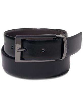Hugo Boss Elvio Leather Reversible Belt