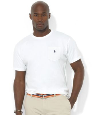 Polo Ralph Lauren Men's Big and Tall Pocket T Shirt