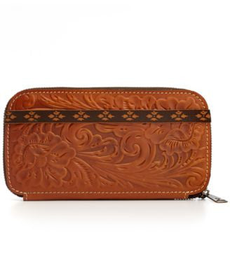 Patricia Nash Tooled Oria Wallet