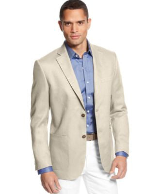 Tasso Elba Big and Tall Linen Blazer