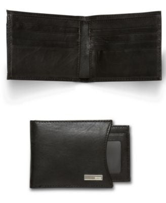 Calvin Klein Bifold Wallet with Removable Card Case