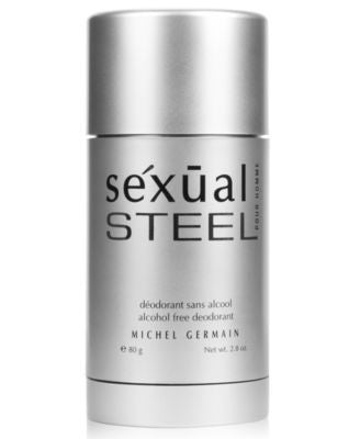 Michel Germain sexual steel pour homme Deodorant Stick, 3 oz - A Vogily Exclusive