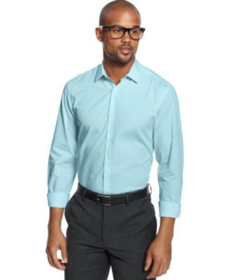 Alfani Slim-Fit Stretch Long-Sleeve Shirt