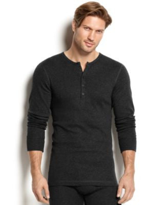 2(x)ist Men's Essential Range Long-Sleeve Henley