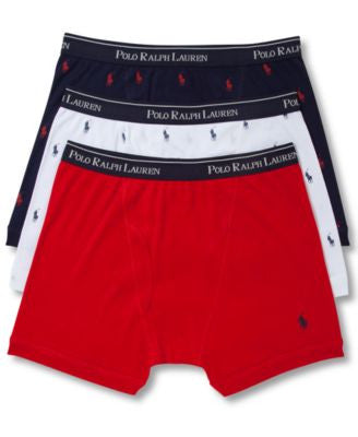Polo Ralph Lauren Men's Underwear, Boxer Briefs 3 Pack