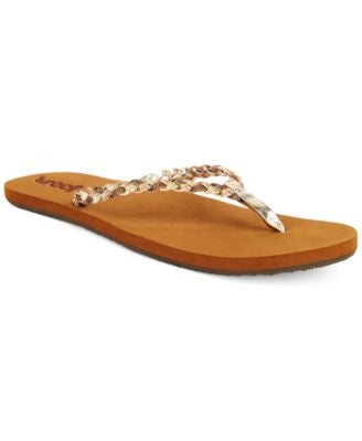 Reef Twisted Stars Flip Flops