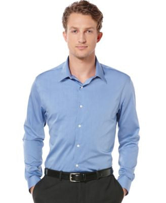 Perry Ellis Big and Tall Long Sleeve Non-Iron Shirt