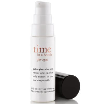 philosophy time in a bottle for eyes, 0.5 oz