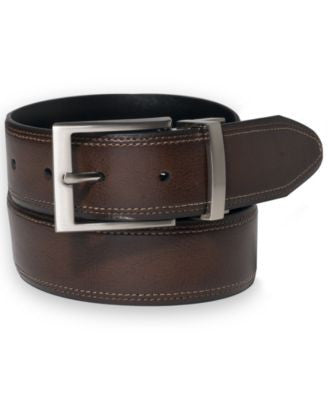 Club Room 35MM Milled Calf Reversible Belt