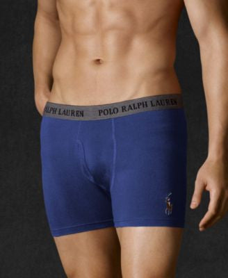 Polo Ralph Lauren Men's Stretch Jersey Boxer Briefs