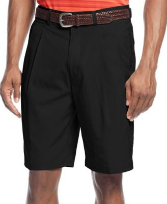 PGA TOUR Men's Double Pleated Performance Golf Shorts
