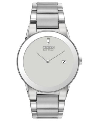 Citizen Men's Eco-Drive Axiom Stainless Steel Bracelet Watch 40mm AU1060-51A