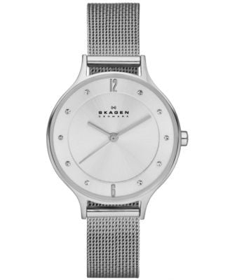Skagen Women's Anita Stainless Steel Mesh Bracelet Watch 30mm SKW2149