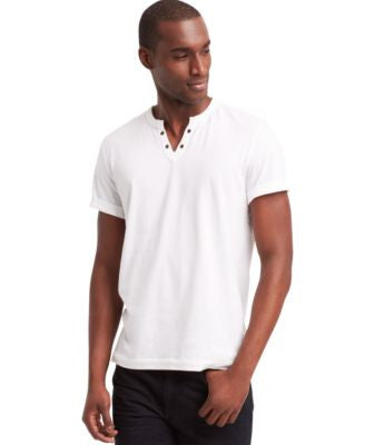Kenneth Cole Reaction Men's Eyelet T-Shirt