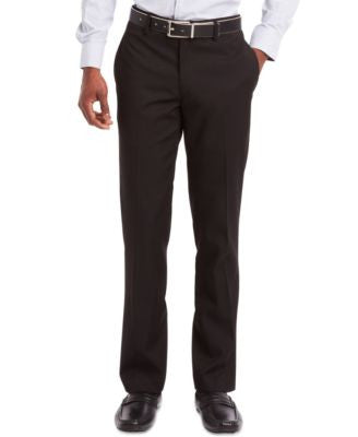 Kenneth Cole Reaction Flat-Front Dress Pants