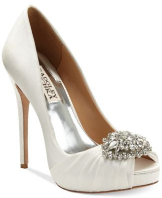 Badgley Mischka Pettal Evening Pumps