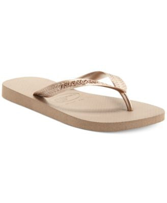 Havaianas Women's Top Metallic Flip Flops