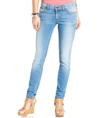 GUESS Power Low-Rise Voila Wash Skinny Jeans