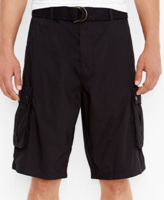Levi's Men's Black Snap Cargo Shorts