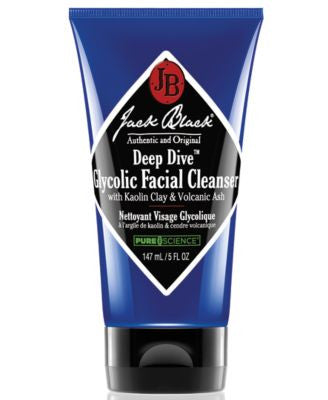 Jack Black Deep Dive Glycolic Facial Cleanser & Purifying Mask