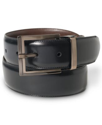 Alfani Reversible Calf Leather Belt