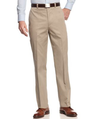 Lauren by Ralph Lauren Tan Solid Classic-Fit Pants